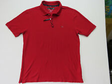 A-132 Greg Norman Men's Polo Shirt New Size L Moisture Wicking RED NEW