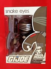 Mighty Muggs G.I Joe SNAKE EYES Vinyl Figures Hasbro New Sealed