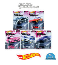 Hot Wheels Premium Fast & Furious Quick Shifters Complete Set 1-5