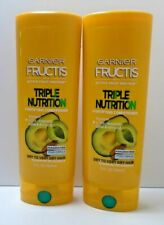 2 PACK Garnier Fructis Triple Nutrition Fortifying Conditioner