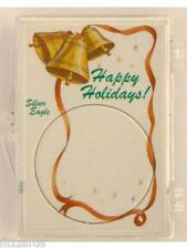 ASE Happy Holidays 2x3, Snap Lock Coin Holder, 3 pack