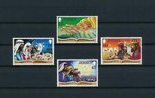 Jersey   690-3 MNH, Christmas Cards, 1994