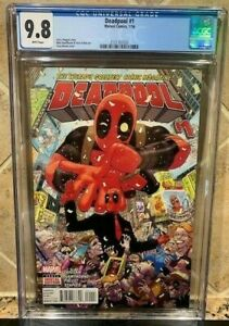 DEADPOOL #1 CGC 9.8! FIRST APPEARANCE MERCS FOR MONEY TEAM VERY RARE SOLD OUT1