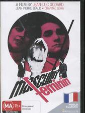 MASCULIN FEMININ -  Jean-Pierre Léaud, Chantal Goya, Marlène Jobert - DVD