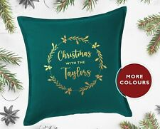 Personalised Christmas Cushion Cover (20 x 20 inch)