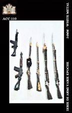 LA FORTEZZA SCALE MODEL ACC-110 - SERIE DI ARMI VARIE EPOCHE - 54mm WHITE METAL