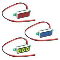 "0.28""DC 4.5-30V LED 3 Digital Diaplay Voltage Voltmeter Panel Meter with 2 Wires"