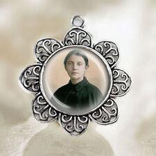 St Gemma Galgani Catholic Medal Patron Saint Christian Jewelry FREE Shipping