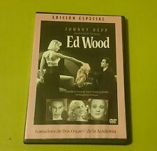 DVD.- ED WOOD (EDICION ESPECIAL) - TIM BURTON - JOHNNY DEPP - DE CULTO