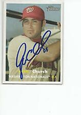 RYAN CHURCH Autographed Signed 2006 Topps Heritage card Washington Nationals COA