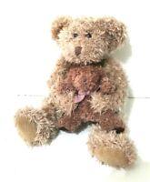 Russ Berrie Mummy Mama Baby Brown Teddy Bear Soft Plush Stuffed Animal Toy