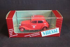 "Vitesse Mercedes-Benz 170 V Sedan 1949 ""Feuerwehr Frankfurt"" 1:43 #162 (JS)"