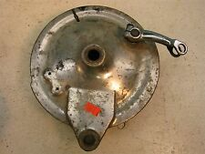 1966 honda dream ca77 305 rear brake plate hub h435-2~