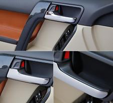 4PCS ABS Interior Door Handle Decorative Trim for Toyota Prado FJ150 2014-2016