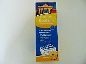 Vokabelbox Alemán Rechtsschreibung Con Mini CD -Aprender-Idioma