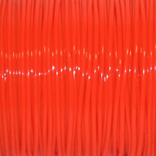 50 YARDS (45m) SPOOL NEON ORANGE S'GETTI REXLACE PLASTIC LACING CRAFTS CYBERLOX