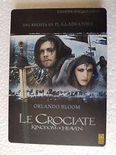 LE CROCIATE-ED.SPECIALE 2 DVD COFANETTO METALLO ORLANDO BLOOM, LIAM NEESON, new