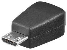 USB 2.0 Adapter Micro USB-B Stecker > Mini USB B Buchse 5pin / 5pol Kupplung