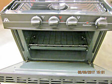 "Atwood Wedgewood RV-1735BBX2 LP Gas 3-Burner 17"" Range 52885"