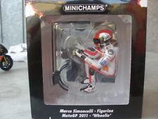 Minichamps Figurine Wheelie Marco Simoncelli MotoGP 2011 1/12 312110058