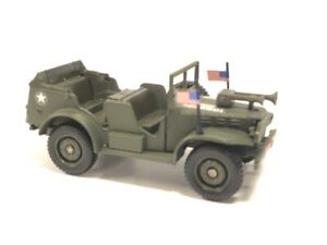Dodge 4x4 wc56 General Patton 1/45 n61 Metal Collect Tanks Vehicles Military