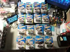 HOT WHEELS LOT OF 16 ZAMAC CARS VIPER CHARGER CHEVELLE TESLA BMW BEETLE FORD GT