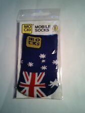 Mocks CALZINO COVER per Cellulare, MP3, fotocamera iPhone OZ Aussie in Australia flag