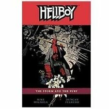 Hellboy Volume 12: The Storm And The Fury (hellboy (graphic Novels)): By Mike...