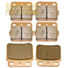 Front Rear Sintered Brake Pads  2003-2013 2005 2006 2007 2008 2009 Suzuki LTZ400