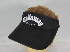 Callaway Golf  Mens  Visor Black  Adjustable Buckle  Strap NWT