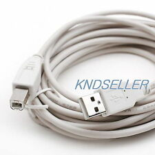 10M 30Ft ( Usb 2.0 A to B Printer Cable ) A-B Epson Hp Printer Scanner Camera