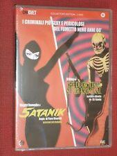 DVD DOPPIO SATANIK-DIABOLIK AL SUPER KRIMINAL SIGILLATO RARO collezione KILLING