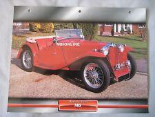 MG TC Dream Cars Card