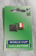 #D320.  2003 RUGBY UNION WORLD CUP PIN / BADGE - ITALY