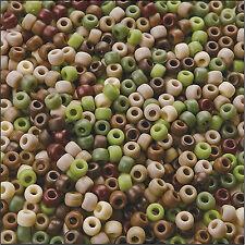 1000 Mix CAMOUFLAGE PONY perline, per Manichino Clip, Braccialetti, CAPELLI calza (pb9m-cam)
