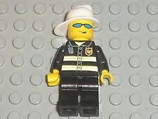 Minifig figurine personnage LEGO POMPIER / Fireman 7240 7213 7906 7046 ....etc
