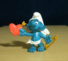 Smurfs Cupid Smurf Valentines Day Brown Bow Arrow Amour Vintage Figure Toy 20128