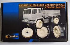 PE Photo-Etched 1/35 M1078 Light Medium Tactical Veichle Resin Tires LE35116