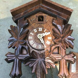 VINTAGE REGULA CUCKOO CLOCK MADE IN GERMANY MUSICAL Found In a Storage Unit