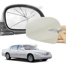 Replacement Side Mirror LH RH 2P + Adhesive for LINCOLN 1998-2011 Town Car