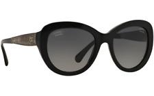 CHANEL  sunglasses  - POLARIZED  -  CH5346 C501S8 -  Black / GOLD -  Womens