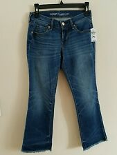 Old Navy Cropped Flare Jeans, Mid Rise, Women's Petite 0 XShort, NWT