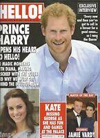 Hello Magazine Prince Harry Kate Middleton Jamie Vardy Met Ball Joan Collins