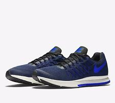 Nike Air Zoom Pegasus 32 Mens Running Shoes 11 Black Racer Blue 749340 014