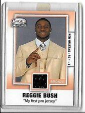 REGGIE BUSH 2006 SAGE SE GAME EXCLUSIVES WORN ROOKIE JERSEY