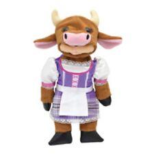 BEANIE KIDS MOO MOO THE FARMER COW BEAR BK2-015