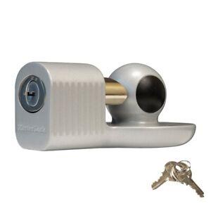 """Master Lock - Fits 1-7/8"""" & 2"""" Couplers, Aluminum Diecast Trailer Locks 377DAT"""