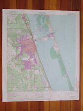 Fort Pierce Florida 1971 Original Vintage USGS Topo Map
