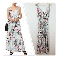 [ WITCHERY ] Womens Floral Print Maxi Dress | Size AU 14 or US 10