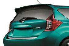 UNPAINTED REAR SPOILER FOR A NISSAN VERSA NOTE 5-DOOR FACTORY STYLE 2014-2017